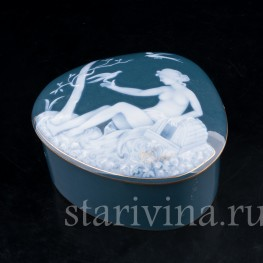 Шкатулка Венера, Limoges, Франция, нач. 20 в