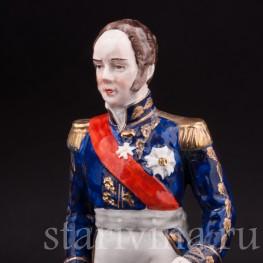 Фарфоровая статуэтка Маршала Луи-Габриэль Сюше, Porcelaine de Paris, Франция, сер. 20 века.