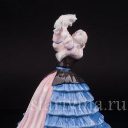 Фигурка девушки из фарфора Сюзанна, Royal Doulton, Великобритания, 2004 г.